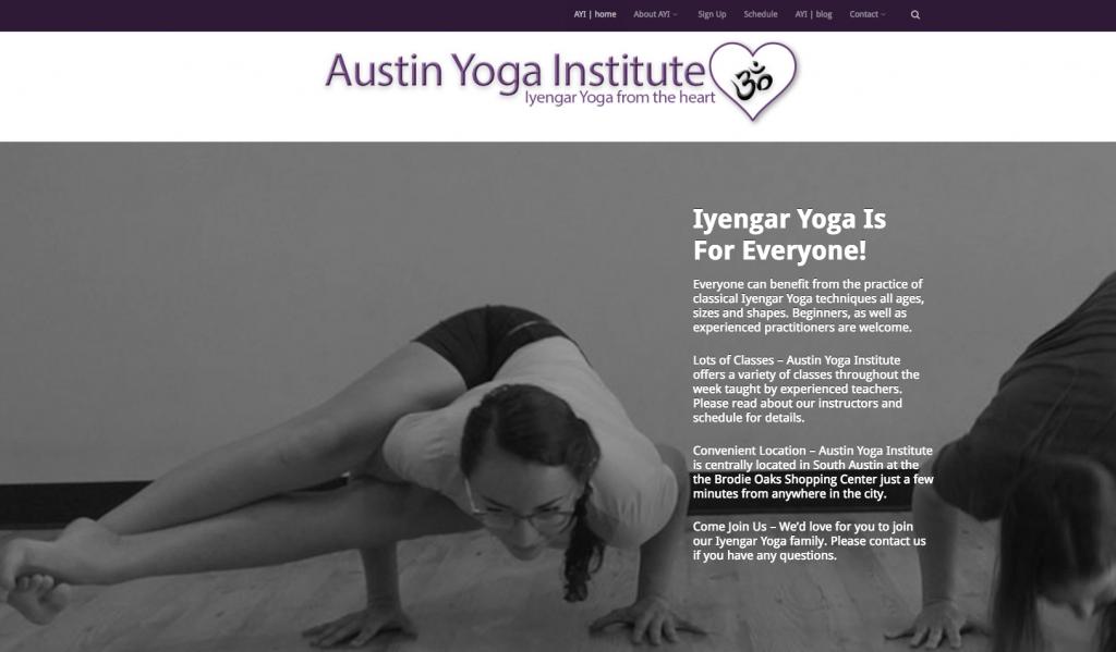 Austin Iyengar Yoga