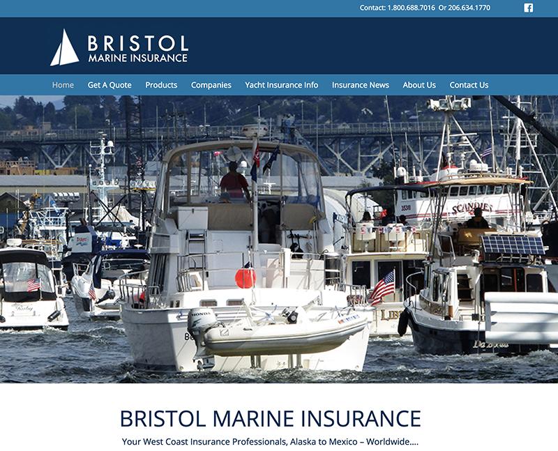 Bristol Marine WordPress Seattle